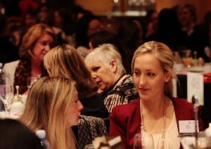 Image of women of different ages at a women's business meeting in Sydney, September 2012